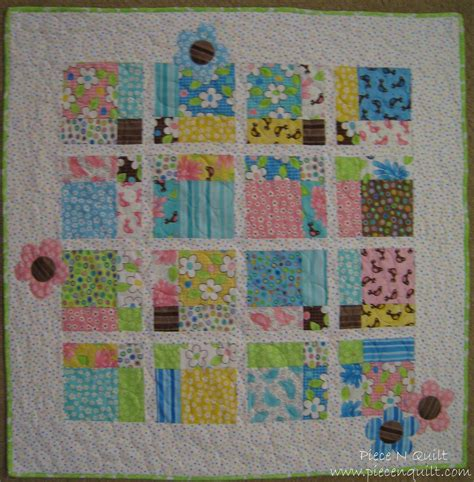 Baby Quilt Patterns by N Quilt 9 Birdie Baby Quilt Tutorial