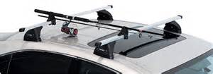 fishing rod holders for a variety of roof racks prorack