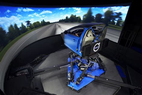 motion simulation room unique brand new entertainment volvo car group installs vi grade s dim driving simulator