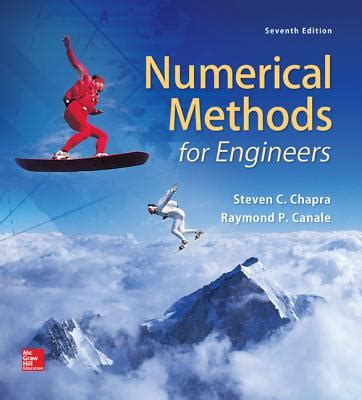 numerical methods for engineers books numerical methods for engineers book by steven c chapra