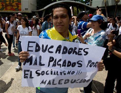aumento de sueldo a profesores universitarios de venezuela profesores universitarios se van de venezuela