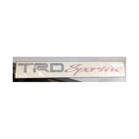 Stiker Trd Sportivo Model Toyota 2015 Warna Stiker H 1 fortuner toyota welcome to toyota html autos weblog