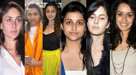bollywood actress without makeup before and after top actresses without makeup you cannot recognize