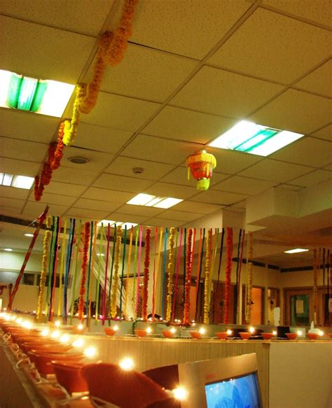 holi decoration ideas for office diwali bay decoration a photo from andhra pradesh south