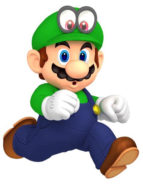 Diskon Figure Mario Bross Luigi green mario luigi costume mario odyssey by nintega