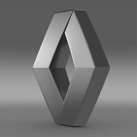 model renault logo cgtrader