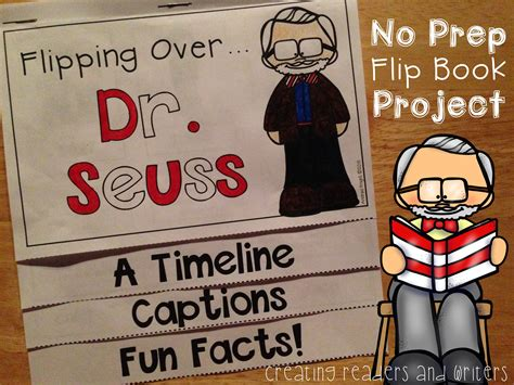 Biography Flip Book Project | flipping over dr seuss a biography flip book for grades