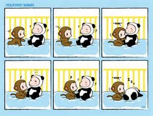 Comic strip polifonic babies by momo81 on deviantart