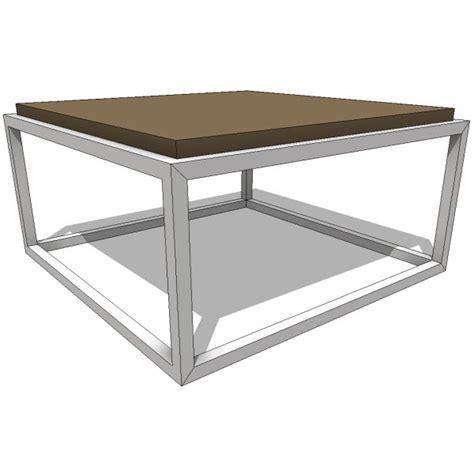 gus modern coffee table 10137 2 00 revit