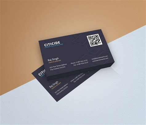 busienss card design templates business card design template and mockup psd