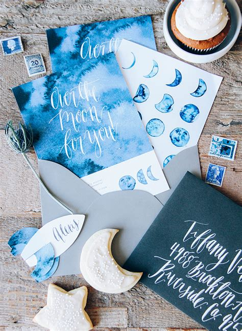 Moon And Baby Shower Ideas by Moon Themed Indigo Baby Shower Inspired By This