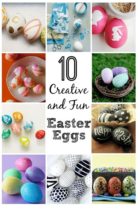 10 creative easter egg decorating ideas easter egg decorating 10 creative and fun ideas this