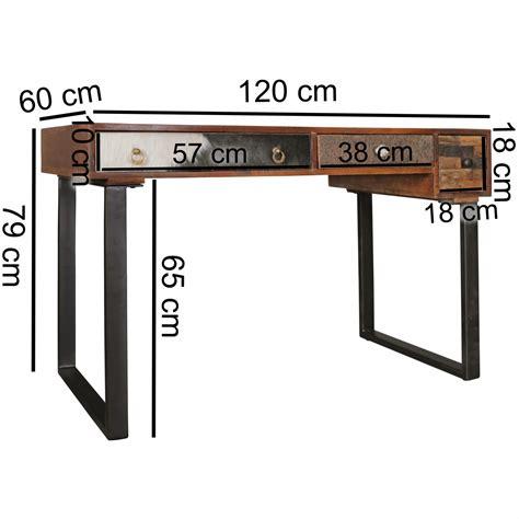 schreibtische 120 cm finebuy schreibtisch kanpur 120 cm laptoptisch schubladen