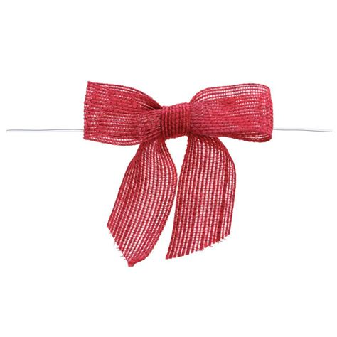 Gs154 Gstring Strapped Front With Ribbon burlap pre bows