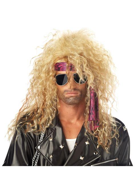 halloween rockstar hairstyles blonde rockstar wig