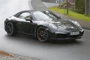 Porsche 911 Gts Porsche 911 Gts Cabriolet On The Nurburgring
