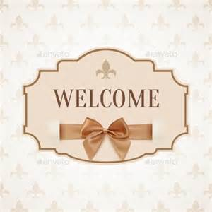 welcome banner template 20 free psd ai vector eps
