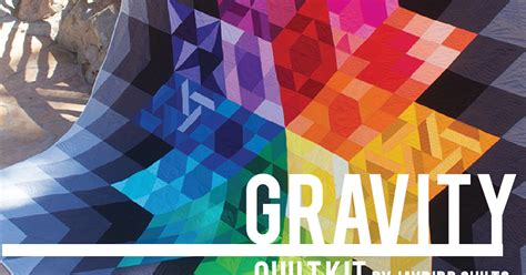 quilt pattern gravity gravity quilt kit by julie herman of jaybird quilts fat