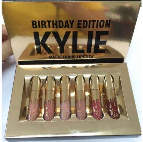 Edition Matte Liquid Silver Pack 6pcs lip kit by jenner makeup matte lipstick 6pcs sets for sale