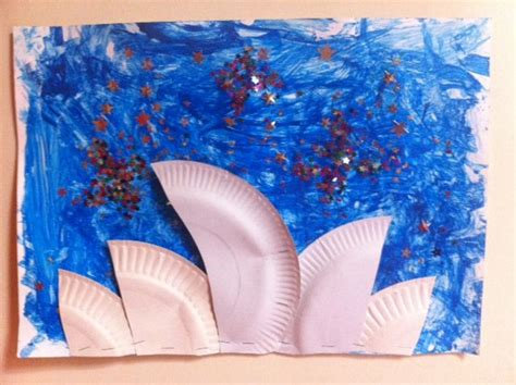 australia day crafts for the sydney opera house another great australia day and