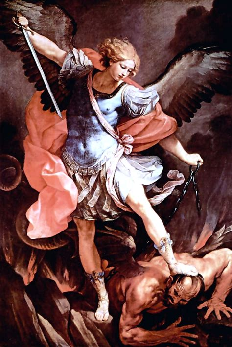 is anybody there st michael defend us in battle