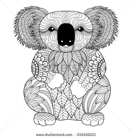 koala adults coloring book stress relief coloring book for grown ups books the world s catalog of ideas