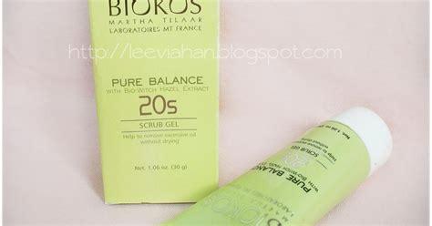 Scrub Wajah Biokos indonesia by via han biokos balance scrub gel