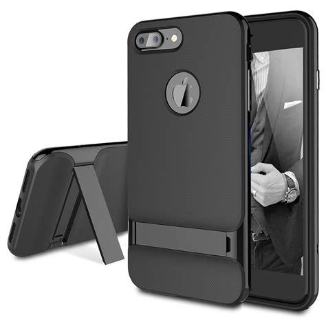 rock royce hybrid shockproof with kickstand for iphone 7 7 plus 8 8 plus ebay