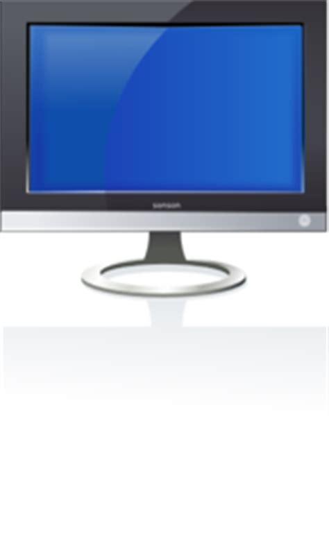 flat screen clip art  clkercom vector clip art