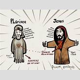 Pharisee And Jesus Little bit funky: pharisees and the sinners