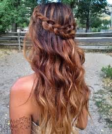 ball hairstyles long hair down collections