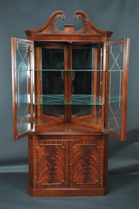 corner china cabinet or corner hutch for the dining room