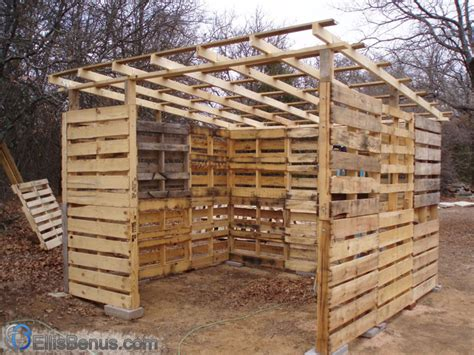how to make a shed out of wooden pallets online woodworking plans
