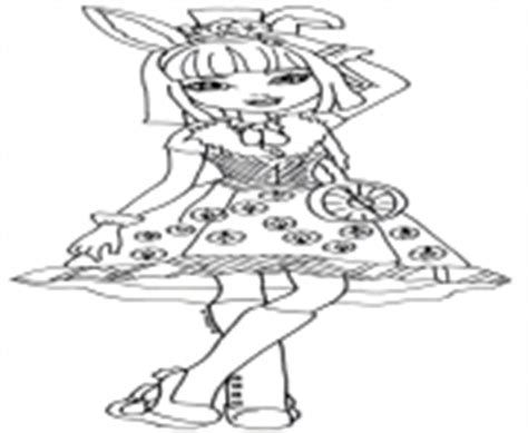 ever after high coloring pages bunny blanc ever after high 4 coloring pages printable