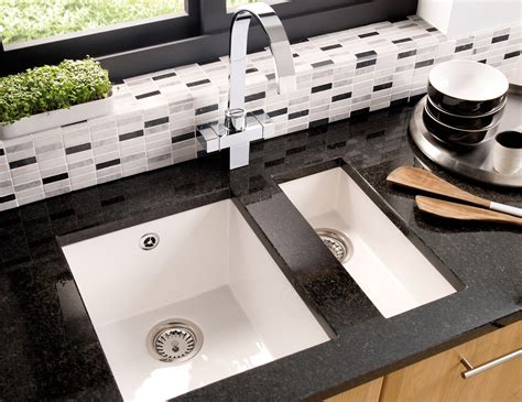 kitchen sink co astracast onyx 0 5 bowl ceramic inset or undermount