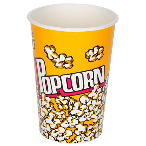bicchieri pop corn carnival king 46 oz popcorn cup 50 pack