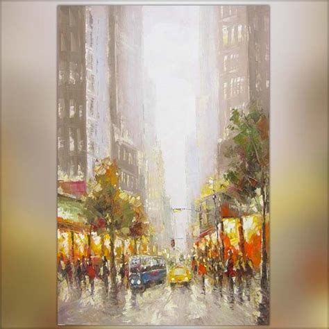 Peinture New York 120 x 80 cm
