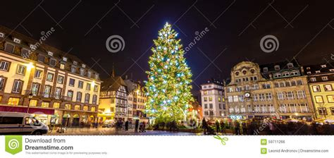 weihnachtsbaum in stra 223 burg 2014 elsass frankreich