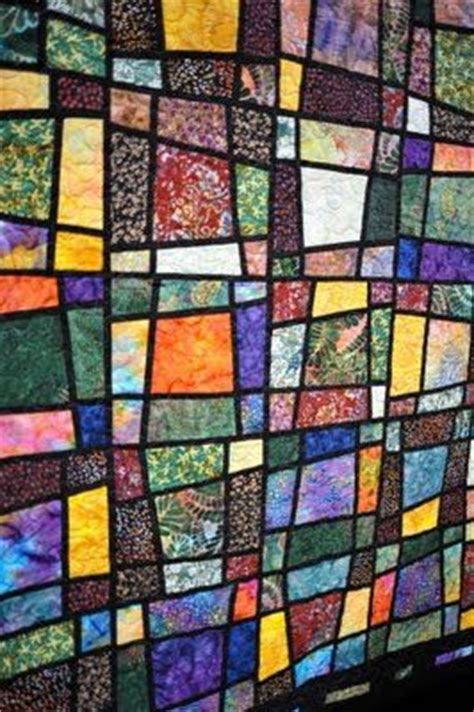 pattern for magic tiles quilt stained glass quilt stained glass and portland on pinterest