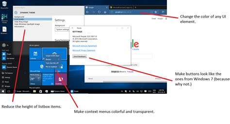 theme windows 10 custom create a custom theme for universal apps in windows 10