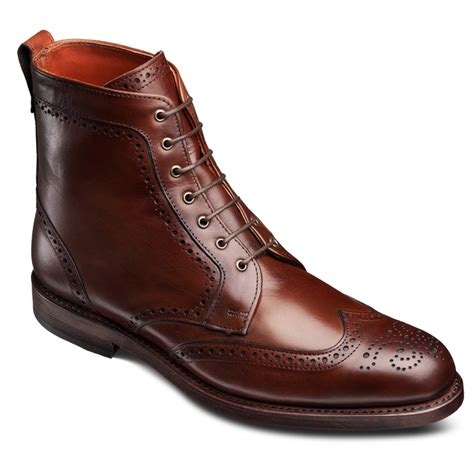 dress boots mens dalton wingtip lace up oxford s dress boots by allen