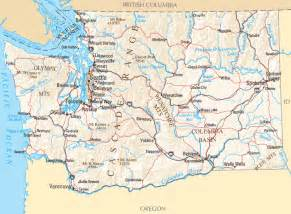 Map Of Washington State Cities And Towns by Washington Map Map Of Washington