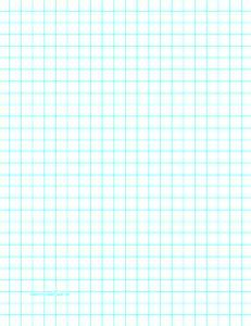 printable graph paper with one line per centimeter on