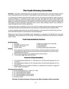organizational policy template policy and procedure manual church sle