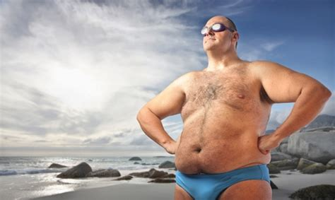 Southern Comfort Guy On Beach Traveling Tips For People Who Are Overweight Or Obese