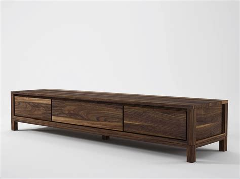 Wooden Tv Cabinet by Solid Wooden Tv Cabinet By Karpenter Design Hugues Revuelta