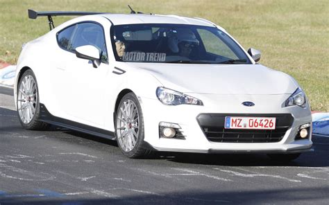 subaru brz test subaru brz sti test mule front three quarter photo 6