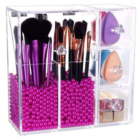 17 best ideas about acrylic makeup organizers on