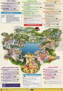 Map Of Universal Orlando by Universal Studios Guide Map Universal Studios Mappery