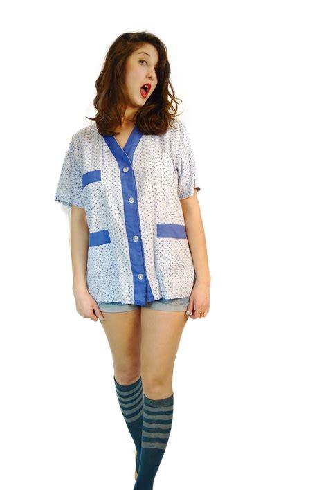 1980 vintage sailor oversize shirt shpirulina